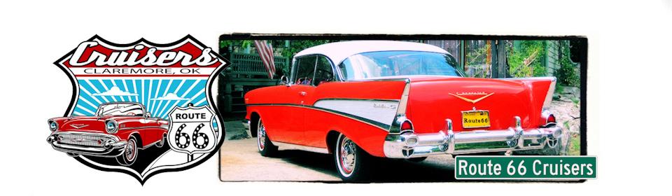 Route Cruisers Car Club Claremore Oklahoma - Route 66 cruisers car show list