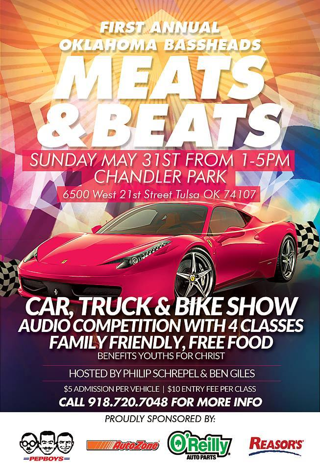 Car Show Flyer Template Printable - Car and bike show flyer template